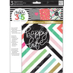 Me and My Big Ideas - Create 365 Collection - Planner - Assorted Covers - Happy Life