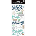 Me and My Big Ideas - MAMBI Sticks - Epoxy Stickers - Faith Believe