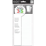 Me and My Big Ideas - Create 365 Collection - Lined Paper - Half Sheet - Blue