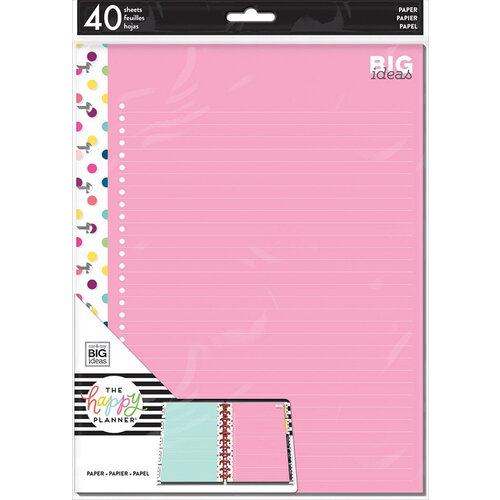 Me and My Big Ideas - Happy Planner Collection - Planner - Big - Fill Paper - Teacher