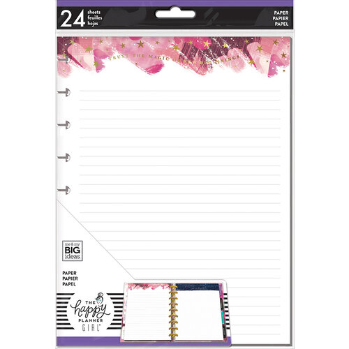 Me and My Big Ideas - Stargazer Collection - Planner - Lined Sheets with Foil Accents