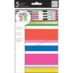 Me and My Big Ideas - Create 365 Collection - Planner - Mini - Pocket Folders - Multi Stripes with Foil Accents