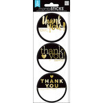 Me and My Big Ideas - MAMBI Sticks - Cardstock Stickers - Labels - Thank You - Gold