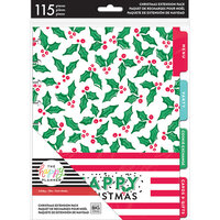 Me and My Big Ideas - Happy Planner Collection - Planner - Extension Pack - Christmas