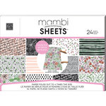 Me and My Big Ideas - MAMBI Sheets - Expandable Paper Pad - Blank and White - Horizontal
