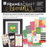Me and My Big Ideas - MAMBI Sheets - Frame and Kraft Elements Paper Pad - Big City Brights