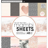 Me and My Big Ideas - MAMBI Sheets - 12 x 12 Paper Pad - Rose Gold