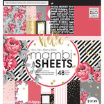 Me and My Big Ideas - MAMBI Sheets - 12 x 12 Paper Pad - Life is Rosy