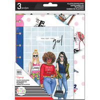 Me and My Big Ideas - Happy Planner Collection - Planner - Plastic Envelopes