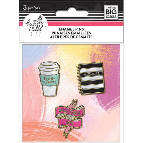 Me and My Big Ideas - Super Mom Collection - Planner - Enamel Pin