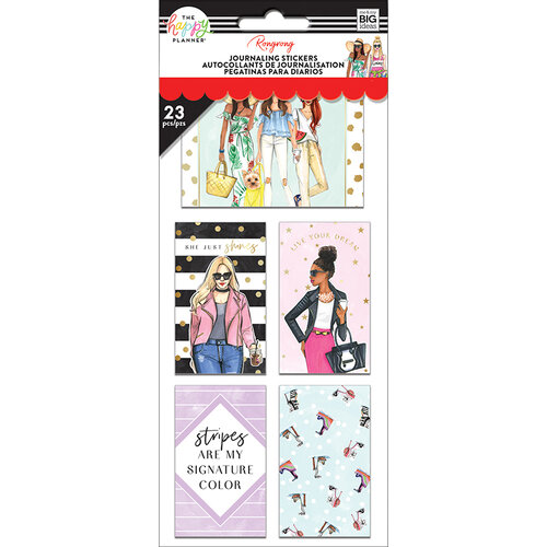 Me and My Big Ideas - Happy Planner Collection - Planner - Classic - Stickers - The Future is Female with Foil Accents