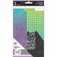 Me and My Big Ideas - Healthy Hero Collection - Planner - Mini - Dashboard