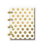 Me and My Big Ideas - Create 365 Collection - Planner - Keepsake - Gold Dots - Undated