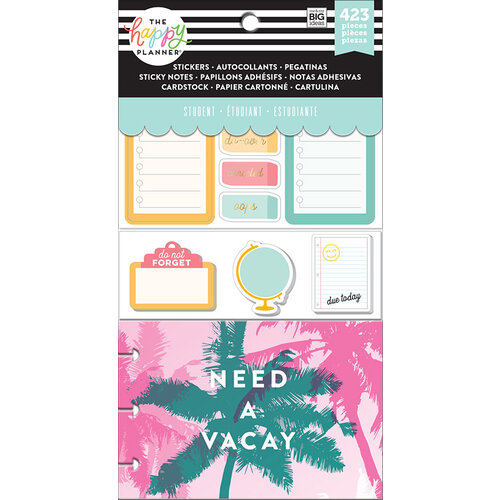 Me and My Big Ideas - Happy Planner Collection - Planner - Sticky Notes - Stay Sharp Student