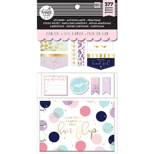 Me and My Big Ideas - Glam Girl Collection - Planner - Multi Pack Stickers with Foil Accents