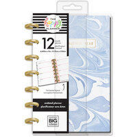 Me and My Big Ideas - Happy Planner Collection - Planner - Mini - Modern Marble with Foil Accents - Undated
