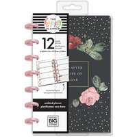 Me and My Big Ideas - Happy Planner Collection - Planner - Mini - Vintage Botanical with Foil Accents - Undated