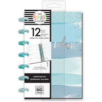 Me and My Big Ideas - Happy Planner Collection - Planner - Mini - Coastal Vibes with Foil Accents - Undated