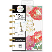 Me and My Big Ideas - Happy Planner Collection - Planner - Mini - Year in Bloom with Foil Accents - Undated