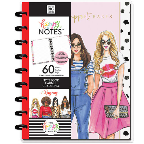 Me and My Big Ideas - Happy Planner Collection - Planner - Classic - Babes Support Babes Notebook with Foil Accents
