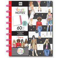 Me and My Big Ideas - Happy Planner Collection - Planner - Classic - Slay All Day Black and White Stripe Notebook