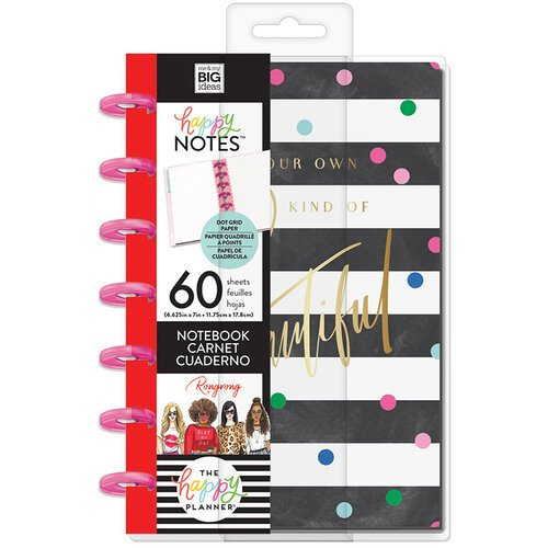 Me and My Big Ideas - Happy Planner Collection - Planner - Mini - Be Your Own Beautiful Notebook with Foil Accents