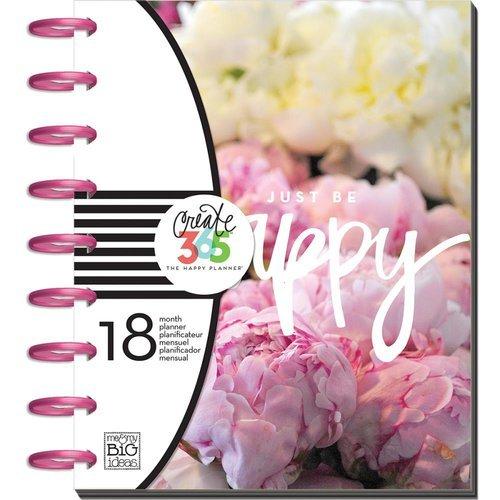 Me and My Big Ideas - Create 365 Collection - Planner - Peony Florals - July 2016 to Dec. 2017