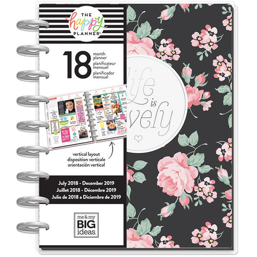 Me and My Big Ideas - Create 365 Collection - Planner - Simply Lovely - July 2018 to December 2019