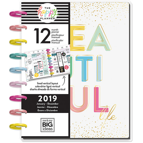 Me and My Big Ideas - Create 365 Collection - Planner - Classic - Life is a Party - 2019