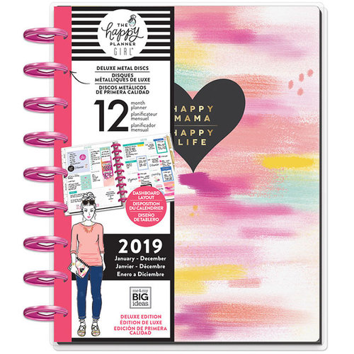 Me and My Big ideas Super Mom Planner 2019 Classic Happy Mama