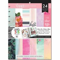 Me and My Big Ideas - Create 365 Collection - 8.5 x 11 Specialty Paper Pad - Pastel