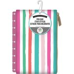Me and My Big Ideas - Create 365 Collection - Planner - Snap In Pen Case - Painted Multi Stripe