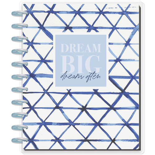 Me And My Big Ideas - Happy Planner Collection - Big - Notebook - Indigo