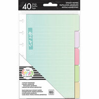 Me and My Big Ideas - Create 365 Collection - Planner - Sticky Notes Pad - Tabs Pastels