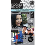 Me and My Big Ideas - Pocket Pages - Clear Stickers - 6 Sheets - Photo Sayings