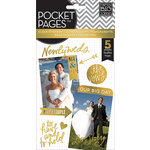 Me and My Big Ideas - Pocket Pages - Clear Stickers - 5 Sheets - Wedding Day