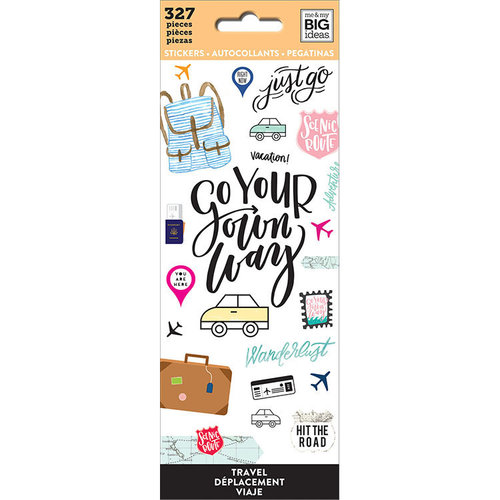 Me and My Big Ideas - Create 365 Collection - Planner - Icon Stickers - Travel