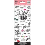Me and My Big Ideas - Create 365 Collection - Planner - Icon Stickers - Hello Friend