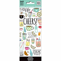 Me and My Big Ideas - Create 365 Collection - Planner - Icon Stickers - Drinks