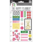 Me and My Big Ideas - Create 365 Collection - Planner - Embellished Stickers with Foil Accents - Make It Happen