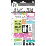Me and My Big Ideas - Create 365 Collection - Planner - Embellished Stickers with Foil Accents - Get Paid