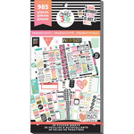 Me and My Big Ideas - Create 365 Collection - Planner - Stickers - Value Pack - Productivity with Foil Accents