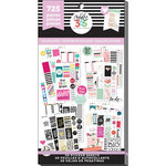Me and My Big Ideas - Create 365 Collection - Planner - Stickers - Value Pack - Classic Color Story with Foil Accents