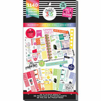Me and My Big Ideas - Create 365 Collection - Planner - Stickers - Value Pack - Classic Rainbow with Foil Accents