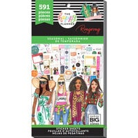 Me and My Big Ideas - Happy Planner Collection - Planner - Stickers - Seasonal with Foil Accents