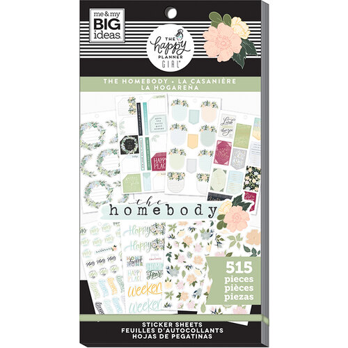 Me and My Big Ideas - Homebody Collection - Planner - Stickers - Value Pack with Foil Accents