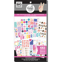 Me and My Big Ideas - Encourager Collection - Planner - Stickers - Value Pack with Foil Accents