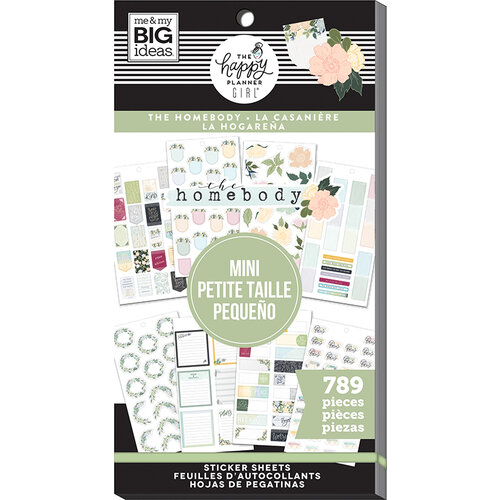 Me and My Big Ideas - Homebody Collection - Planner - Mini - Stickers - Value Pack with Foil Accents