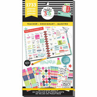 Me and My Big Ideas - Create 365 Collection - Planner - Stickers - Value Pack - Teacher with Foil Accents