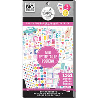 Me and My Big Ideas - Encourager Collection - Planner - Mini - Stickers - Value Pack with Foil Accents